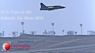 LCA Tejas at the  Bahrain Air Show 2016
