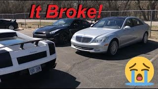 I Tuned my Mercedes S600 V12 for 600HP, and IT BROKE ALMOST IMMEDIATELY