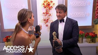 Golden Globes: Sylvester Stallone's Journey With Rocky Balboa