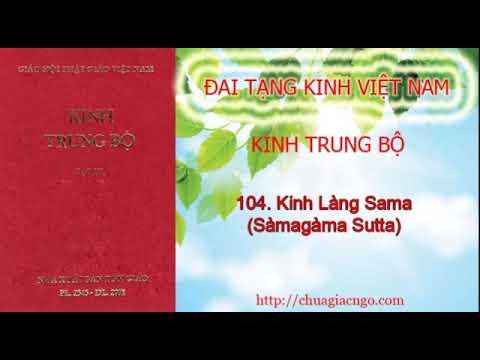 Kinh Trung Bộ - 104. Kinh Làng Sama