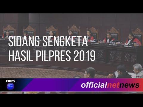 FULL LIVE STREAM Sidang Ke-4 Sengketa Perselisihan Hasil Pilpres 2019