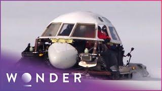 Engineers Build Escape Vehicle From Arctic Plane Crash Wreckage (Part 4) | Escape EP5