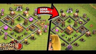 DUVARLARI BİTİRİYORUZ !! | Clash Of Clans