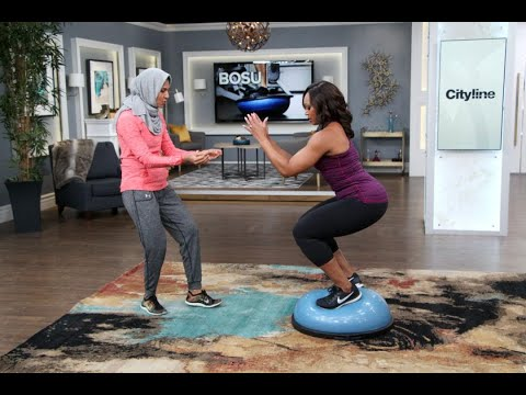 Get a full body workout with just a Bosu Ball