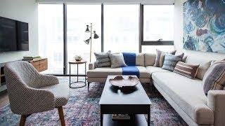 Interior Design: Condo Living Room Makeover For A Bachelor