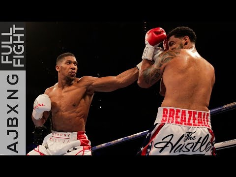 Full Fight | AJ Vs Dominic Breazeale TKO