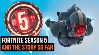 Fortnite Season 5 Theories & The Story So Far