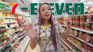 Thailand 7-Eleven Mukbang *THE BIGGEST STORE*