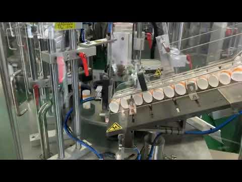 W-RFFS170-AFS Ultrasonic plastic tube loading filling sealing machine