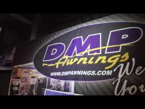 The cooloest Awnings i ever seen !!!!! DMP AWNINGS  PRI SHOW 2015