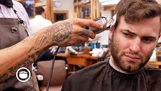My First Haircut In 5 Months | South Austin Barber Shop