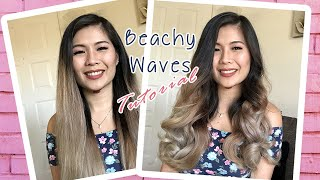 Summer Beach Waves | Loose Curls Tutorial