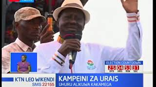 Kampeni za NASA: Raila Odinga ashutumu maamuzi ya Jubilee kubadilisha sheria za uchaguzi