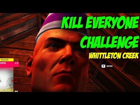 Whittleton Creek Kill Everyone Challenge - Hitman 2
