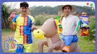 Câu Chuyện Hai Bố Con Đi Bán Ngựa ❤ BIBI TV ❤