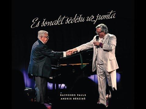 """Andris Bērziņš un Radio trio - """"Es šonakt sēdēšu uz jumta"""" (Oficiālais teksta video)"""