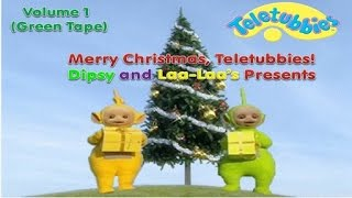 Merry Christmas, Teletubbies! - Volume 1: Dipsy and Laa-Laa's Presents (1999 US VHS)