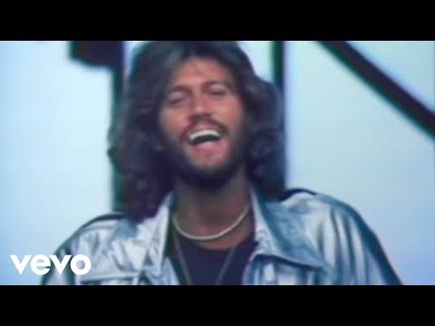 Bee Gees - Stayin' Alive (Official Music Video)