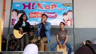 151125 Rizky Febian - Sorry (by Justin Bieber) at SMAN 9 Bandung