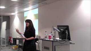 preview picture of video 'Amelia Womack speaking at Kingston University'