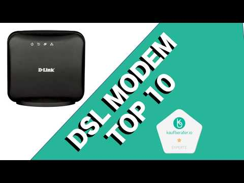++ DSL Modem Test, Vergleich & Ratgeber ► Welche Modelle sind die Besten? | Kaufberater.io TV
