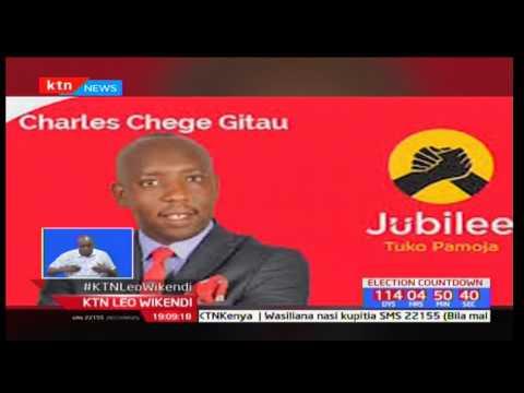 Download Taharuki Kabete kufuatia habari za kutoweka kwa mmoja wa wagombeaji ubunge Charles Gitau Chege