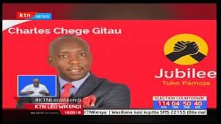 Taharuki Kabete kufuatia habari za kutoweka kwa mmoja wa wagombeaji ubunge Charles Gitau Chege