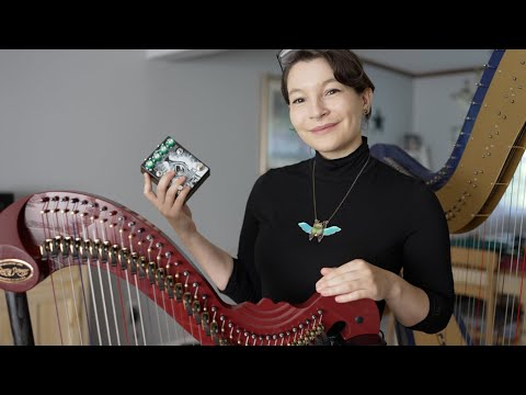 Playing a Harp with a Distortion Pedal