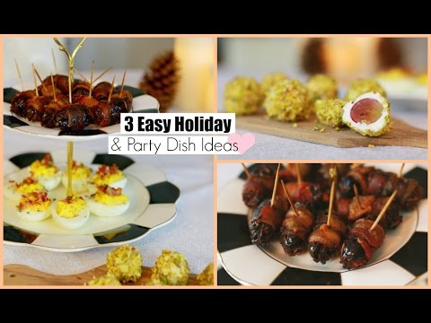 3 Easy Party Appetizers Recipe Ideas MissLizHeart