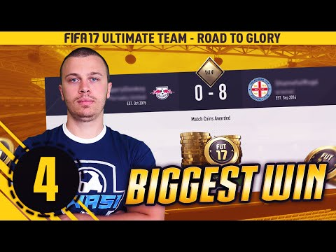 FIFA 17 ROAD TO DIVISION 1 - MY BIGGEST WIN IN ULTIMATE TEAM - CRAZY FIFA 17 GAMES - PLAY LIKE A PRO
