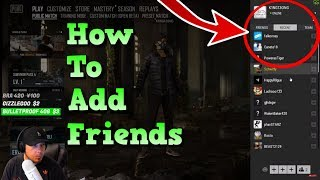 🔴 How To Add Friends On PUBG 🔴 How To Add Friends On Steam And PlayerUnknown's Battlegrounds