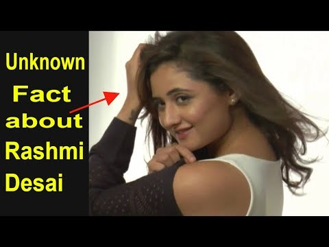 Interesting and unknown fact about Rashmi Desai