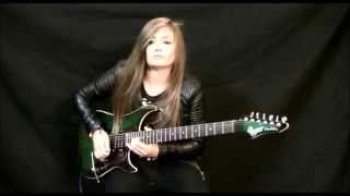 """Tina S performs a stunning rendition of """"The Loner """" by Gary Moore"""