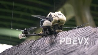 Trial / PiratFrames Prototype + T-Motor F40 Pro IV / FPV Freestyle