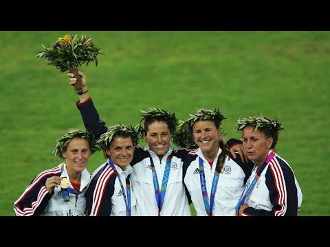 Stanford's Julie Foudy talks winning gold at the 2004 Olympics