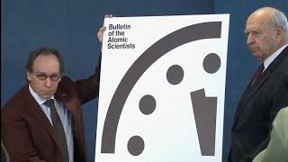 """Doomsday Clock"" moves 30 seconds closer to midnight"