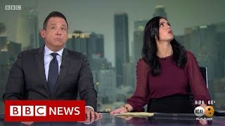California Earthquake: 'I Think We Need To Get Under The Desk' - BBC News