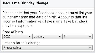 How Do I Change My Facebook Birthday After Limit (2021)