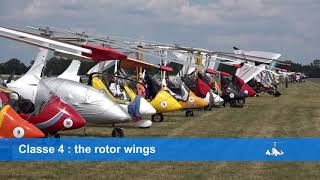 The six classes of Microlight Aircraft
