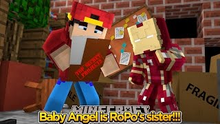 Minecraft Adventure - BABY ANGEL IS ROPO'S SISTER??