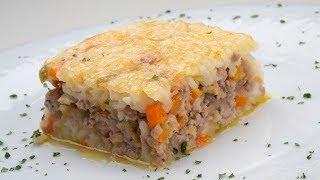 Pastel De Arroz Y Carne Picada - Karlos Arguiñano En Tu Cocina