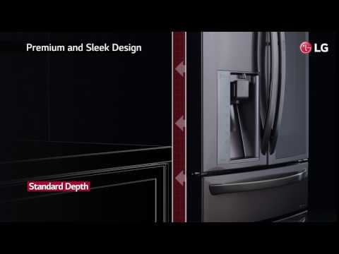 LG Refrigerators LSXC22486S (Side-by-Side) from Class