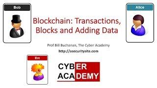 Blockchain: Transactions, Blocks and Adding Data
