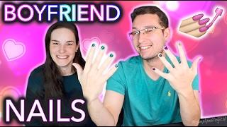 I do my Boyfriend's Nails