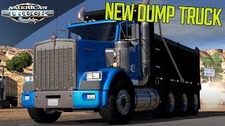 NEW T800 DUMP TRUCK | Mod showcase | AMERICAN TRUCK SIMULATOR