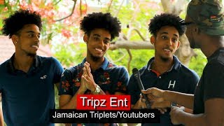 Jamaican Triplets (Tripz_Ent) Compete For Shenseea's Love, Dating The Same Girls & UWI LIfe