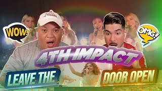 FIRST TIME HEARING 4th Impact- Leave The Door Open | REACTION (Philippine Group)