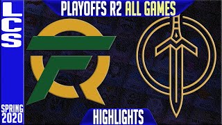 FLY vs GGS Highlights ALL GAMES | LCS Spring 2020 Playoffs Round 2 |  FlyQuest vs Golden Guardians