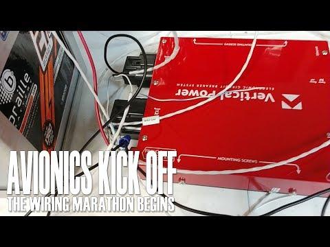 Avionics Kick Off - the wiring marathon begins