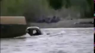 Север КАМАЗЫ, УРАЛЫ  в воде